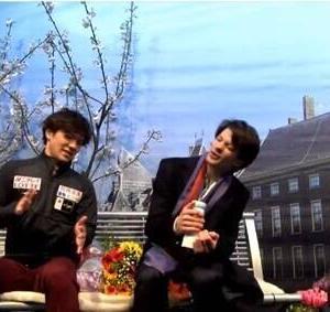 昌磨とケージ・タナカのチャレンジカップSP
