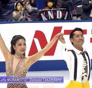 高橋/村元ペアが日本のアイスダンスを一気に押し上げ