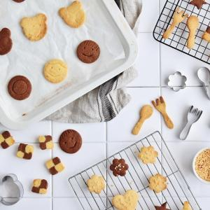 DAISOクッキーミックスで可愛い手作りクッキー