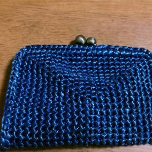 編みつけるがま口