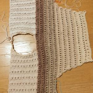 ドライブ編みのプル