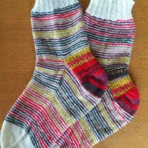 Jogless stripe socks
