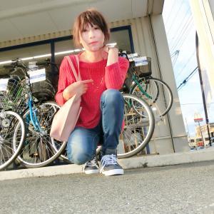自転車を買いに。