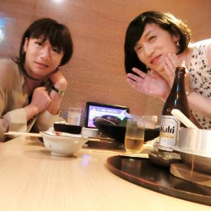 ひさびさの、女子二人飲み