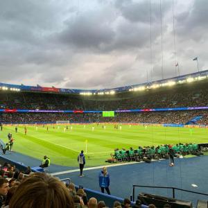 女子サッカーWカップ開幕!フランスvs韓国をスタジアムで観戦