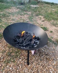 念願のファイヤーピット買って焚き火をしてみた