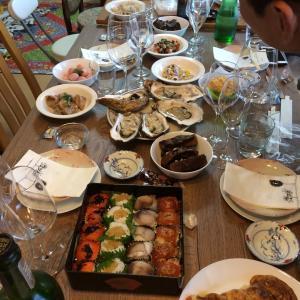 奇跡の会!松戸Mさん宅の、持ち寄りワイン会!
