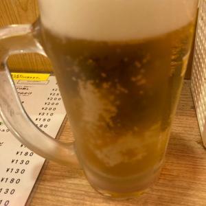 新宿で昼から女1人酒ー!晩杯屋とアガリコ餃子楼