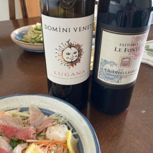 父の命日にイタリアワインを