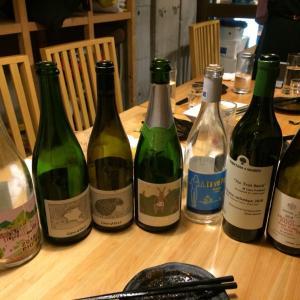 日本ワインの会@三鷹の居酒屋まるこう