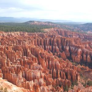 【独特の尖塔群が壮観】ブライスキャニオン国立公園 (Bryce Canion National Park) (2007年5月21日〜22日)