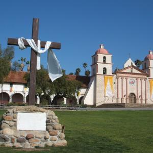 【ミッションの女王と呼ばれる美しい教会】ミッション・サンタバーバラ (Mission Santa Barbara) (2007年4月26日)