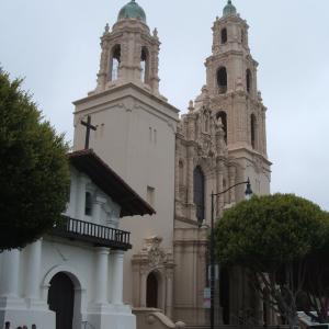 【カリフォルニア・ミッションの1つ】San Francisco de Asis (Mission Dolores)