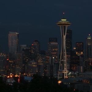 【シアトルの夜景鑑賞スポットと言えばここ】ケリー・パーク (Kerry Park)