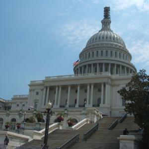 """【""""自由""""の国の象徴】連邦議会議事堂 (United States Capitol)"""