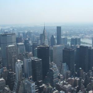 【ニューヨークを代表する展望台】エンパイア・ステート・ビル (The Empire State Building)