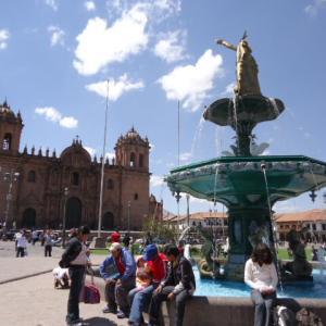 【インカ文明とキリスト教文化が交錯する世界遺産の都市】クスコの市街 (City of Cuzco)