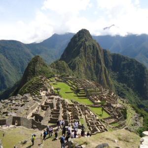 【マチュ・ピチュの散策記録】マチュ・ピチュ遺跡 (Huayna Picchu) の風景