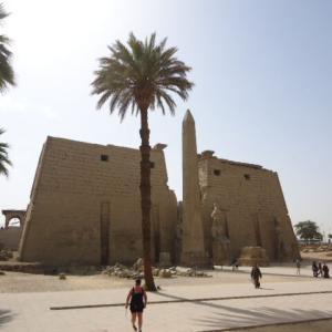 【アメン大神殿の付属神殿であった神殿】ルクソール神殿 (Luxor Temple)