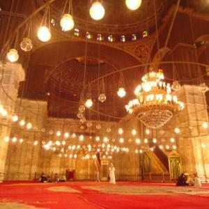 【荘厳な雰囲気を醸し出しているモスク】ムハンマド・アリー・モスク (The Mosque of Muhammad Ali)