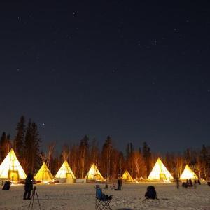 【オーロラ帯のほぼ真下に位置するオーロラの町】イエローナイフ (Yellowknife) の場所