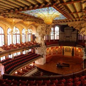 【モデルニスモ建築の最高傑作】バルセロナのカタルーニャ音楽堂とサン・パウ病院 (Palau de la Música Catalana and Hospital de Sant Pau, Barcelona)