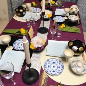 【生徒さんのレポートご紹介】重陽の節句の食卓を作りました