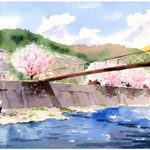 ふるさとの桜