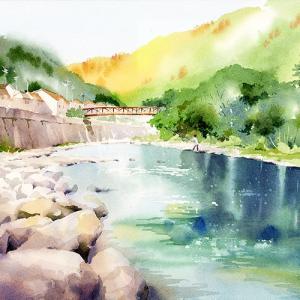 ふるさとの川