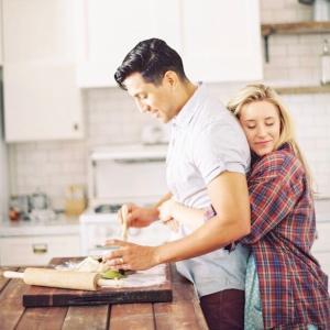 GWと主人とキッチン事情 。