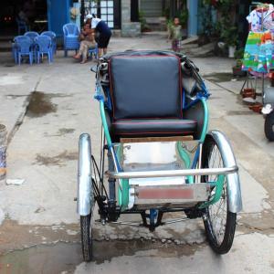 旅の人3:ベトナムのホーチミンでシクロ(自転車タクシー)のドライバー「ファンさん」に出会った~。