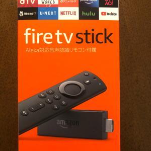 fire tv stickがきた