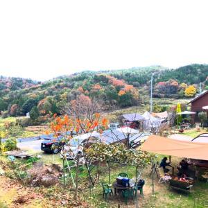 2020.11.22-23 岡山のキャンプ場