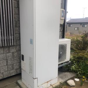 石川県加賀市の大聖寺様(仮名)エコキュート取替工事 補助金をもらって賢く給湯器の交換です。