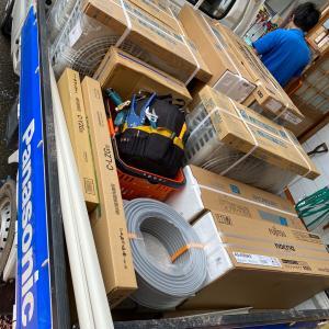 石川県加賀市でエアコン4台を取り付けしました。