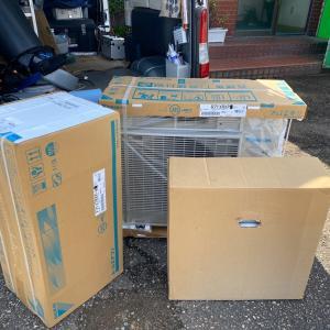 石川県小松市 コロナ対策に換気も出来るダイキンエアコン 支援事業を利用したエアコンの取替です。