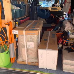 石川県金沢市 量販店が断った3階のエアコン取付工事