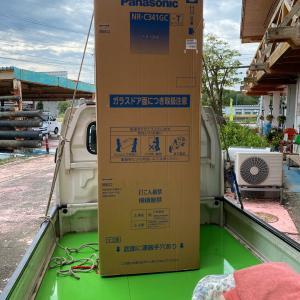石川県加賀市 冷蔵庫の設置から 改装のリフォーム工事