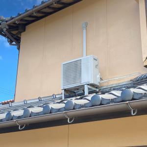 石川県小松市の新規のお客様より子供部屋のエアコン修理依頼からの修理不可によるエアコン取替