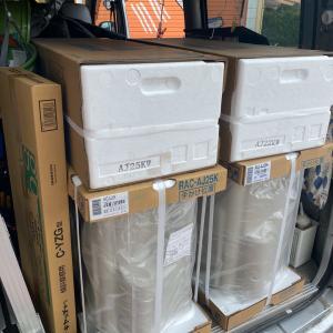 石川県加賀市 マルチエアコンから壁掛エアコン二台への取替