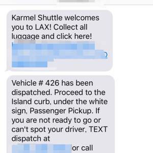 DLR'20.02【1】『LAXからDLRの交通手段★カーメルシャトル』の巻