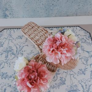 6月のレッスンスケジュール & ガマスリッパもお花で可愛く❤️