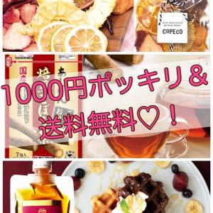【1,000円ポッキリ♡!】買い回りにおすすめなお得アイテムはコレ♡
