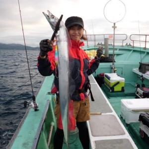 9月25日(土) 太刀魚