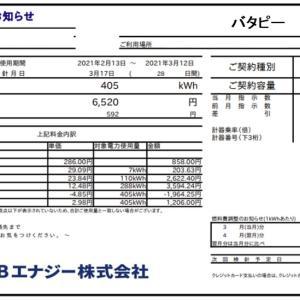 電気代40%ダウン!3月の東京電力「スマートライフプラン」とHTB「ぜんぶでんき東京」の電気代比較