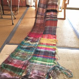 長〜い織り