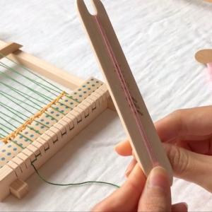 インテリアにもなる手織りコースターキット発売