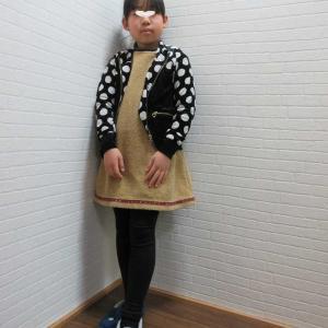 校内書初め大会☆唯子さん 金賞でした♪