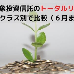 iDeCo(イデコ)対象投資信託のトータルリターンを資産クラス別で比較(6月まで)