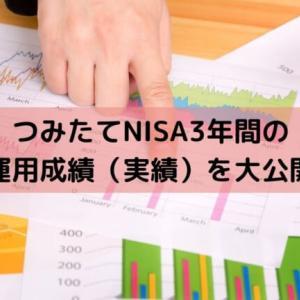 つみたてNISA3年間の運用成績(実績)を大公開。どれだけ投資してどれだけ儲かった?損した?